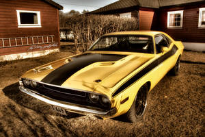 Dodge Challenger HDR by evrengunturkun