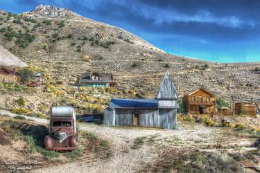 Cerro Gordo Mines HDR by evrengunturkun