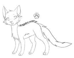 F2U CAT LINES! by SilverFeather-Adopts