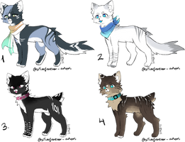 Cat adopts (CLOSED) by SilverFeather-Adopts