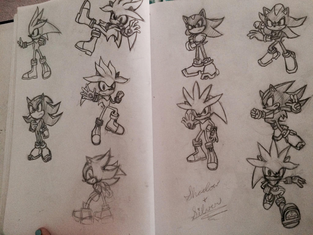 Practicing some hedgehogs by MissCeciliaWhite