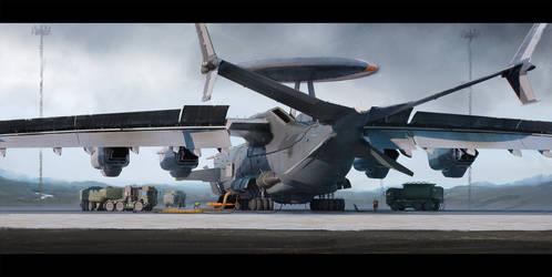 Strategic Airlift Drone: Loading