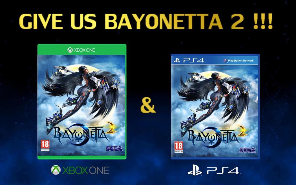 Give Us Bayonetta 2 !!! by Despear