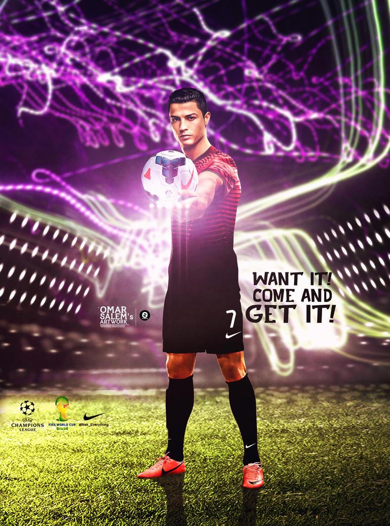 Cristiano Ronaldo 2014 by omar05 on DeviantArt