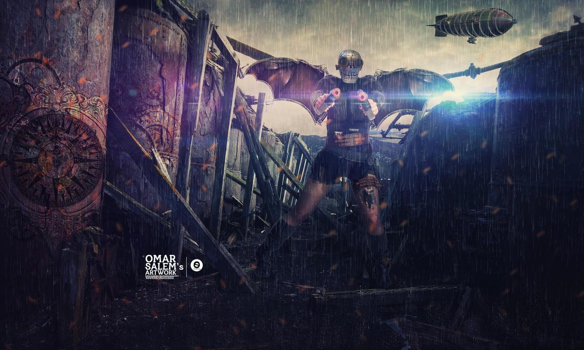 Steampunk War by omar05