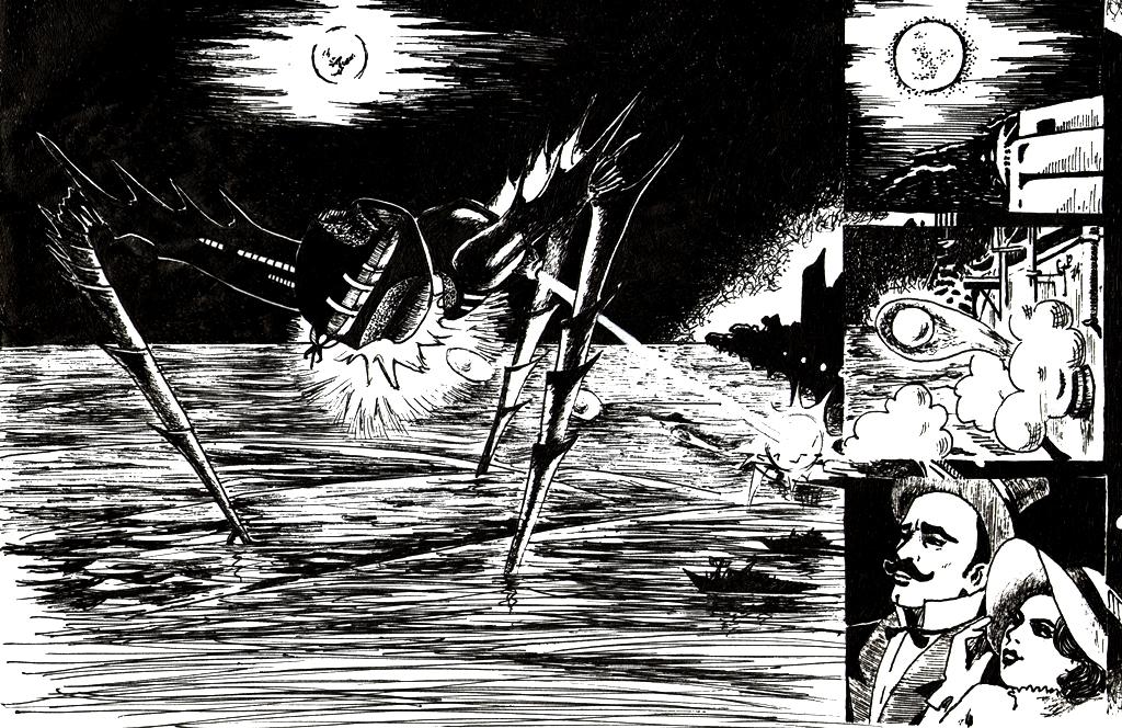 The War of the Worlds by derBudaika