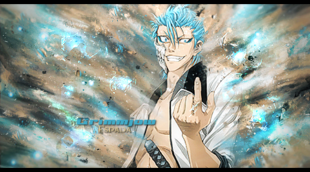 Grimmjow smudge by TanerIlz