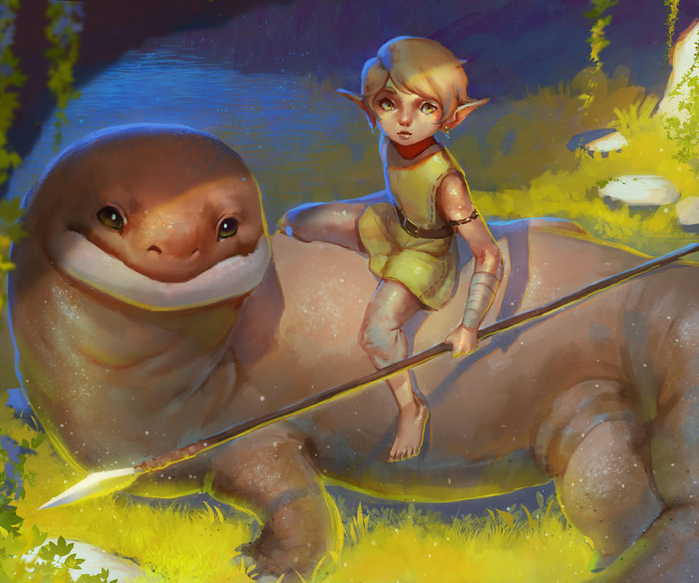 Pip and Toku by Yenbai