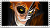Hollow Ichigo stamp by DazMatter