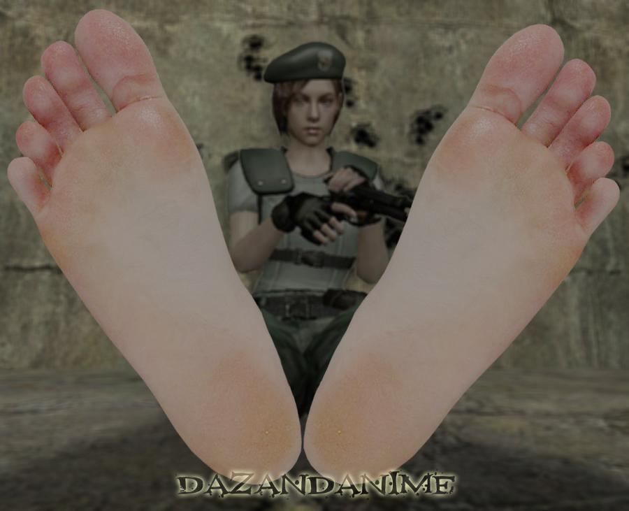 Jills Feet by DazidentEvil
