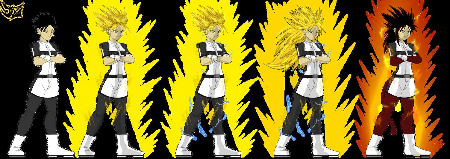 dbz xenoverse character ref by DazMatter