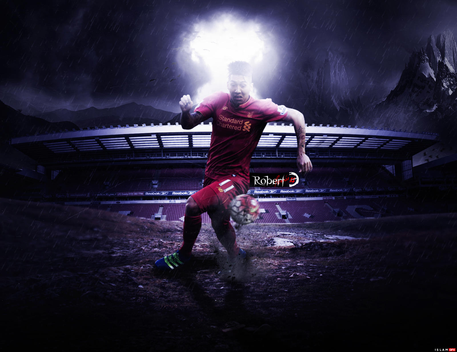 Roberto-Firmino-Wallpaper By Islam12Elbasami On DeviantArt