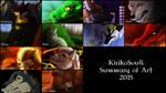Kiriko's Art Summary 2015 by Kiriko-Windgeist