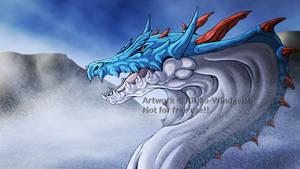 Lagiacrus - Lord of the Sea [+Speedpaint] by Kiriko-Windgeist