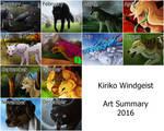 Kiriko's Summary of Art 2016 by Kiriko-Windgeist