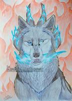 CM   Blue King by Kiriko-Windgeist
