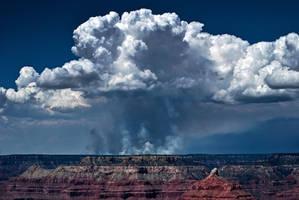 Canyon Fireplace by RichardNohs