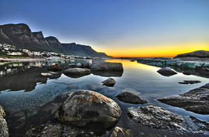 Sunset at Camps Bay by RichardNohs