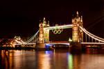 London, England's Tower Bridge 4 the Olympics Pt 1