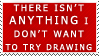 the true artist stamp by zelos22