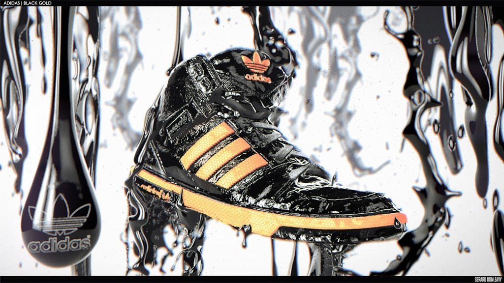 Adidas Black Gold - Style Frame Two by Capital---G on DeviantArt