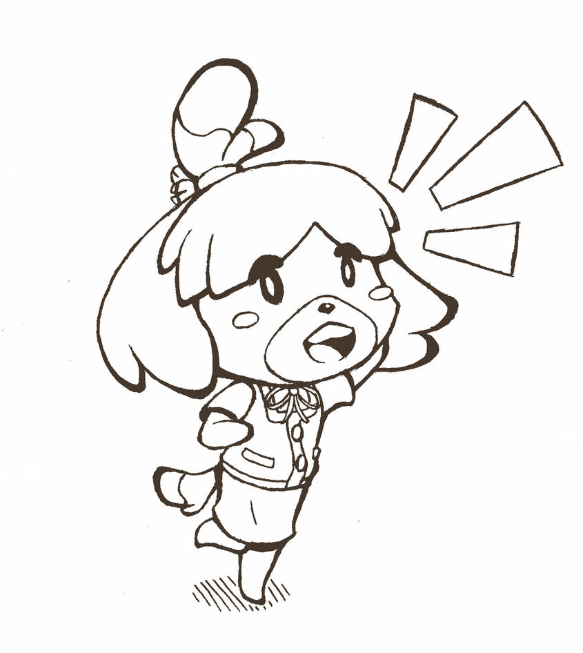 Coloriage Animal Crossing New Leaf.Animal Crossing New Leaf Coloring Pages Coloring Pages