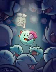 Gwaah ha haaa! (Lady Bow - Paper Mario) by Takeshre
