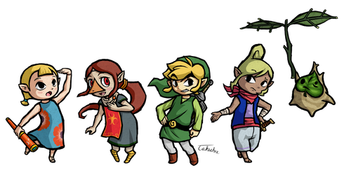 Wind Wakes - The Legend of Zelda: The Wind Waker by Takeshre
