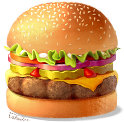 Burger by Takeshre