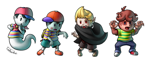 EarthBound Halloween by Takeshre