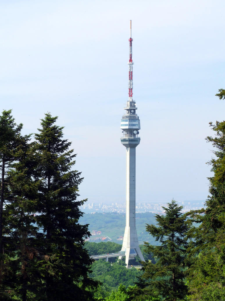 Avala Tower by Olovni