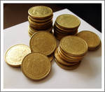 Gold Coins by Olovni
