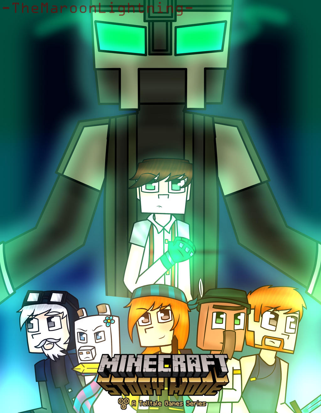 Minecraft Story Mode Season 2 By Themaroonlightning On Deviantart