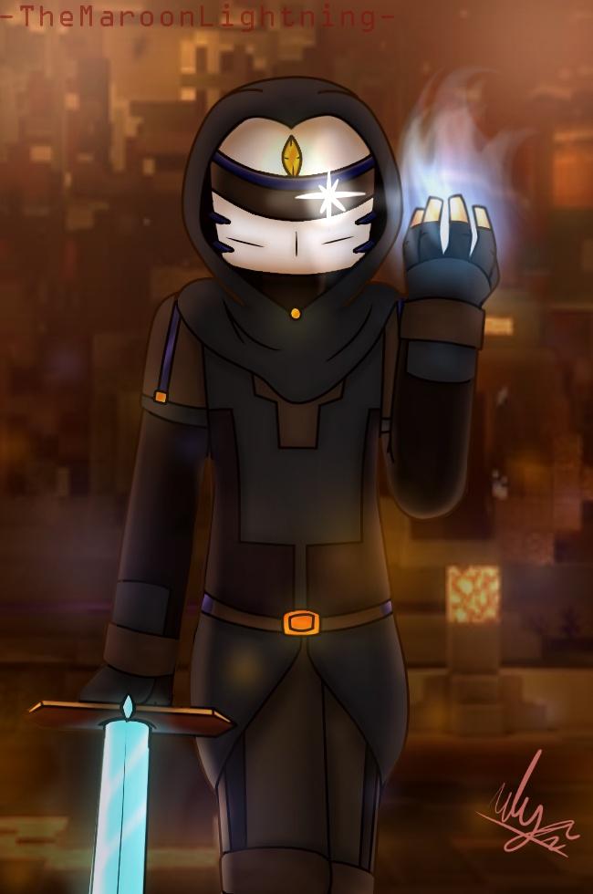 Minecraft Story Mode S2 The Ninja By Themaroonlightning On