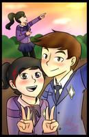 Elementica : School Selfie by TheMaroonLightning