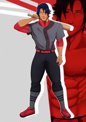 Gin (Baseball Uniform) by Erosico
