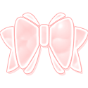 Pink Bow by candybubblesweety