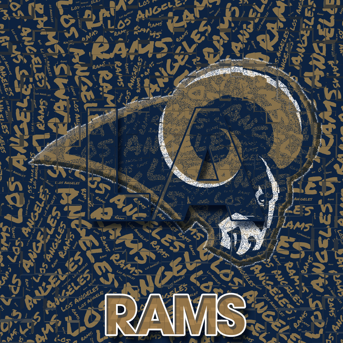San Diego Chargers Fan Forum: Los Angeles Rams By Whostherawest On DeviantArt