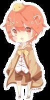 Akai-Len - small chibi 11.8.15