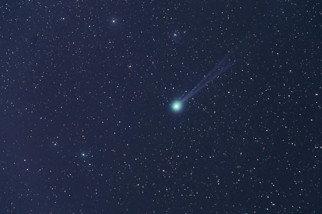 Comet Lovejoy by Sesjusz