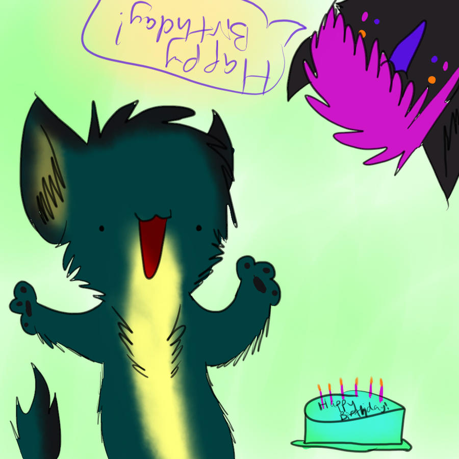 HAPPY BIRTHDAAAYYYY by nightpooll