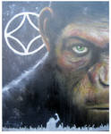 Rise of the Apes Canvas 61x77cm