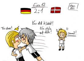 Euro 12 - Germany vs. Denmark by SerdiMaaka
