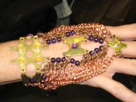 Medieval slave bracelet: hand