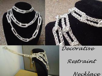 Decorative Restraint Necklace