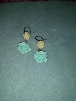 Wedding Roses Earrings