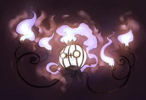 Pokemon :: Do not follow the lights by chenpathART