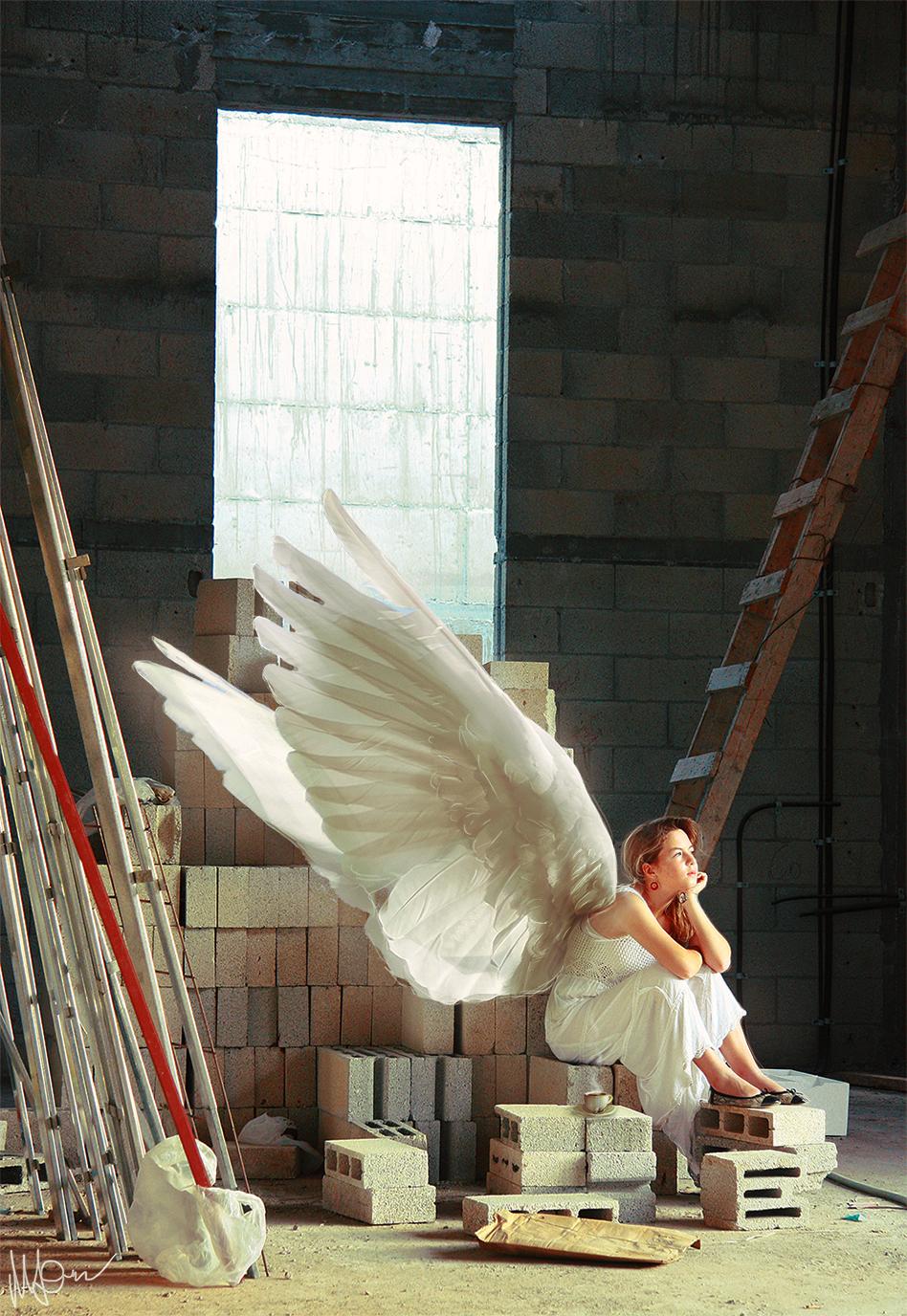 Morning angel by Gejda