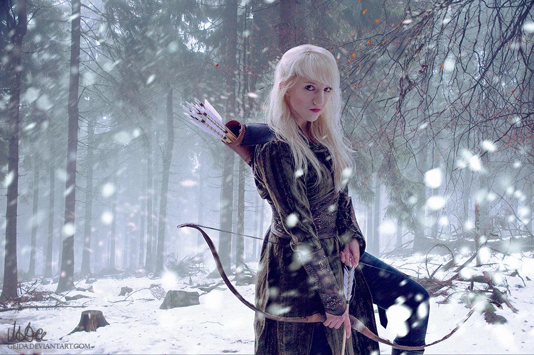 Silvan elf by Gejda