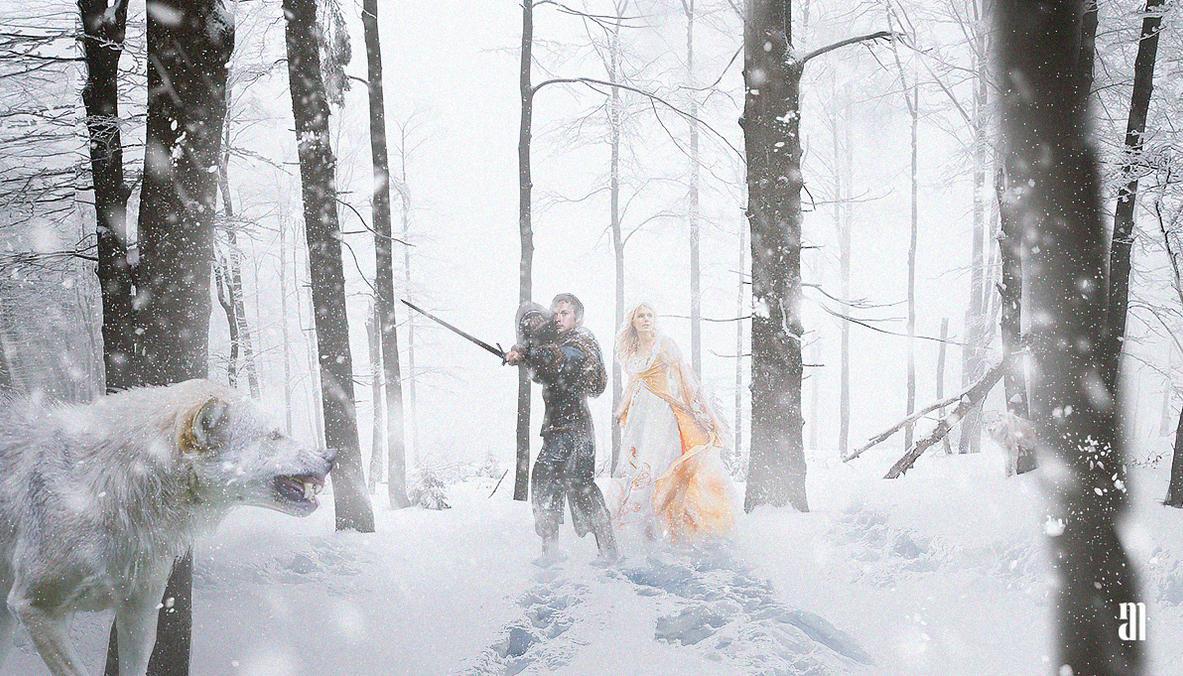 Wolf Winter by Gejda